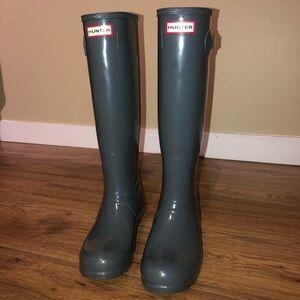 Hunter Rain Boots Size 8